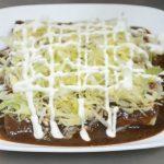 enchiladas de mole poblano