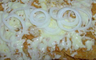 receta de chilaquiles al chipotle