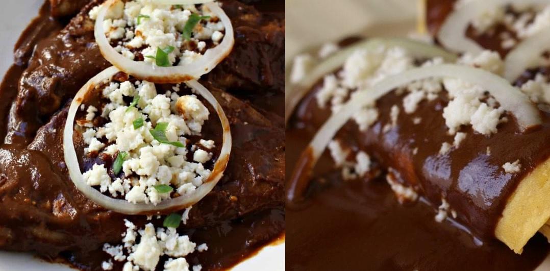 enchiladas estilo coahuila