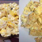 miguitas con huevo