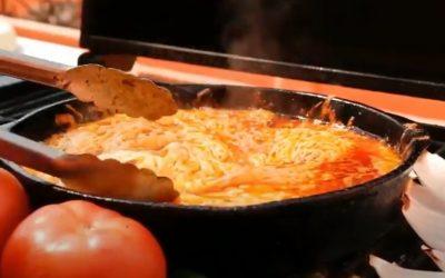 como hacer queso flameado